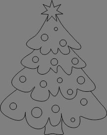 Kolorowanki Ze świątecznymi Choinkami