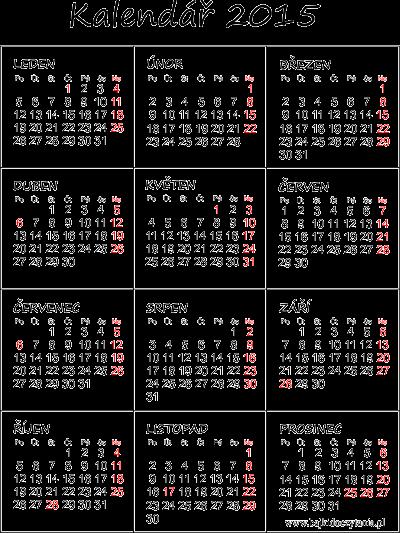 cesky kalendar 2015 Kalendář 2015 k vytisknutí pdf cesky kalendar 2015
