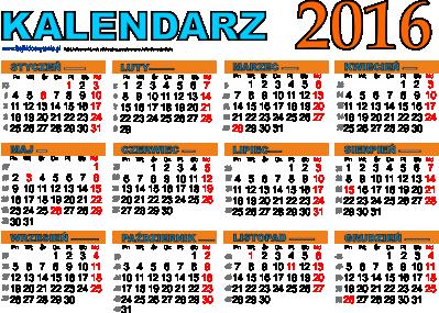 Kalendarz Angielski 2016 Related Keywords & Suggestions - Kalendarz ...