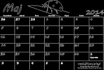 kalendarz maj 2014 kalendarz maj 2014 niedziele i święta na czerwono